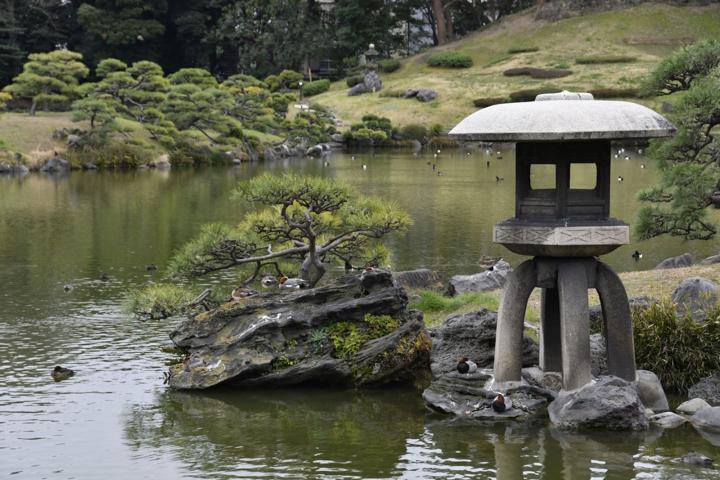 Kiyosumi Teien, Japanese Garden in Tokyo