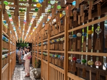 Enmusubi Wind Chime Festival, Photo by Hiroshi Ito