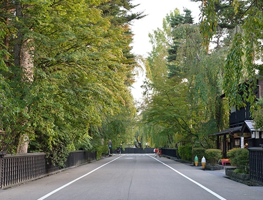 Kakunodate Samurai Residence District, Senboku city in Akita prefecture