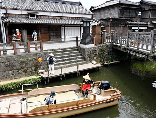 Sawara Historical District, Katori city, Chiba prefecture