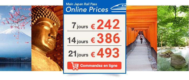 Japan Rail Pass latest price