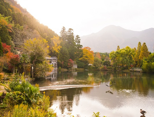kinrinko-lake-yufuin-oita