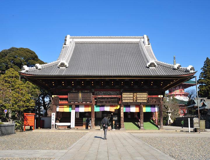 Le temple Naritasan Shinshoji