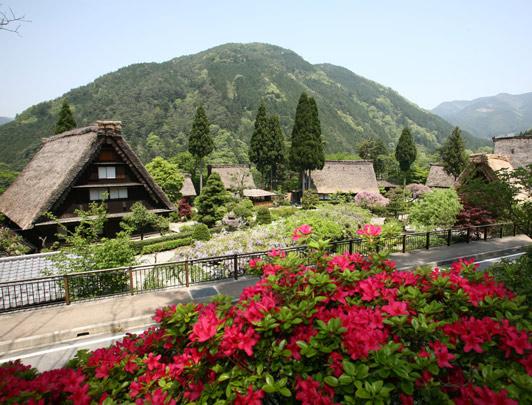 Gero Onsen Gassho Village