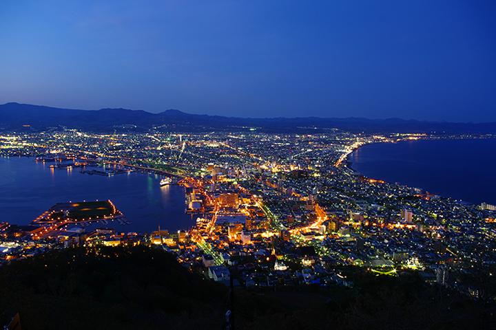 Night view in Hakodate