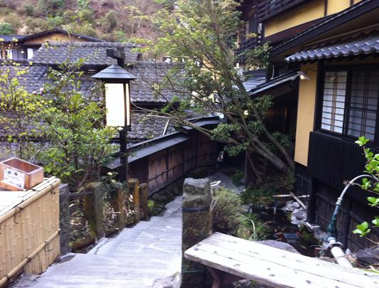 Kurokawa-onsen, Kumamoto