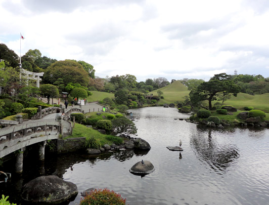 Suizenji Joujuen   (Parc Suizenji )