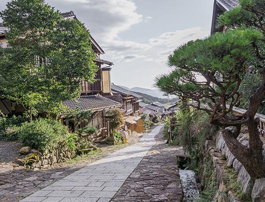 Magome Juku, Gifu