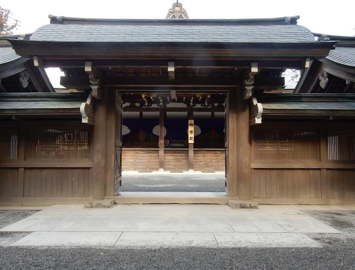 Ise Jingu Grand Shrine, Mie