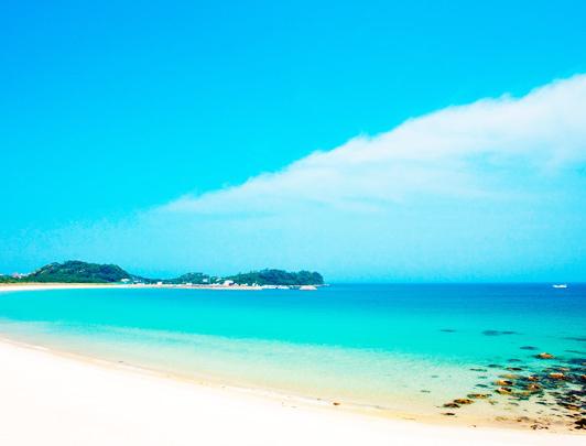 La plage de Tsutsukihama