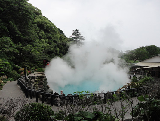 5 jours de vacances thermales (onsen) à Kyushu par le train JR