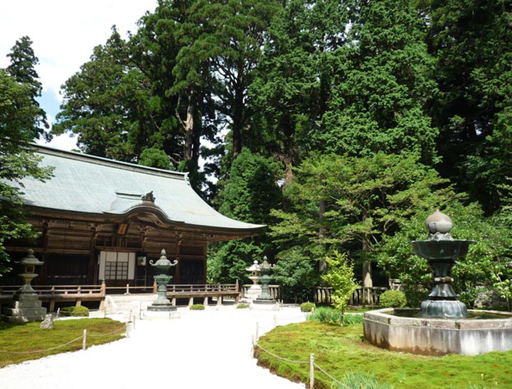 The Enryakuji temple