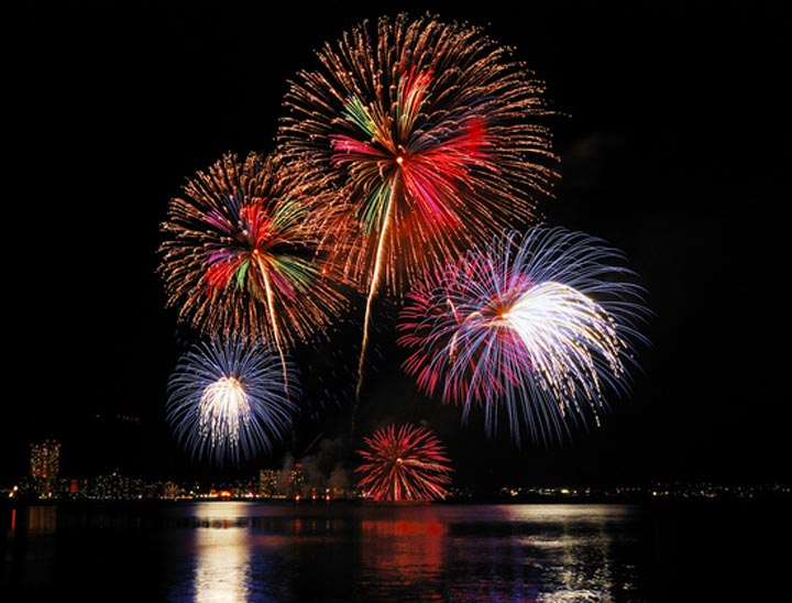 Lake Biwa Great Fireworks Festival