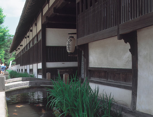Sanctuaire Taikodani Inari et la vieille ville de Tsuwano