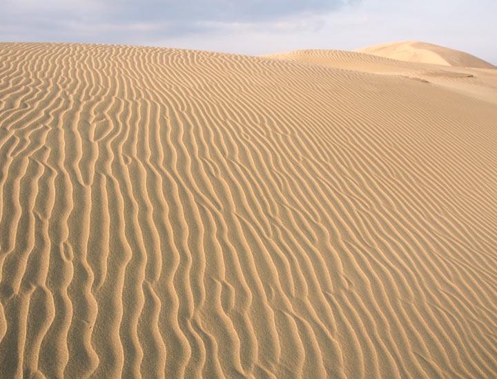 Tottori Sakyu (sand dunes)