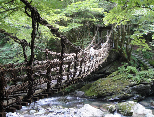 Kazurabashi (Vine Bridge)