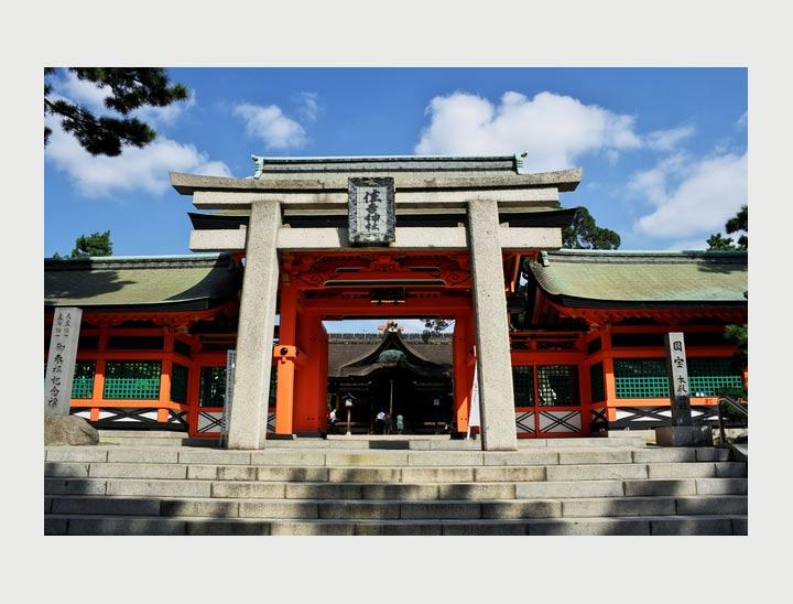 Le festival de Sumiyoshi