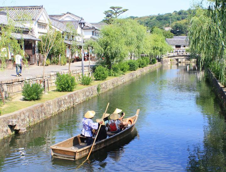 Quartiere storico  Kurashiki Bikan