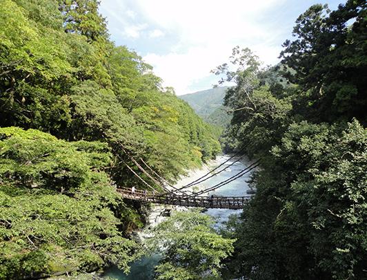 Iya Kazurabashi ( vine bridge), Iya Tokushima