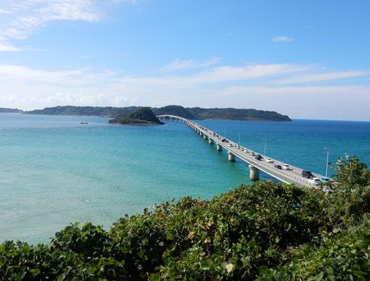 Tsunoshima Ohashi Bridge, Yamaguchi