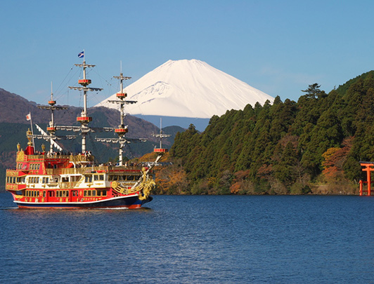 Mt Fuji & Hakone 1Day Tour (by Motorcoach)