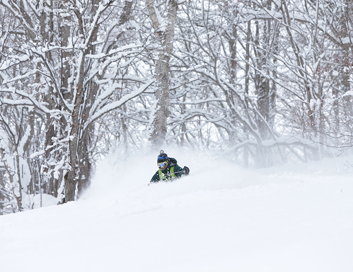 Niseko's snow is off the scale and out of this world!