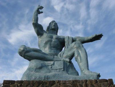 Peace Statue, Nagasaki
