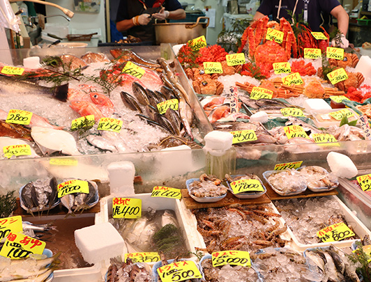 Tsukiji Outer Fish Market and Sushi Workshop