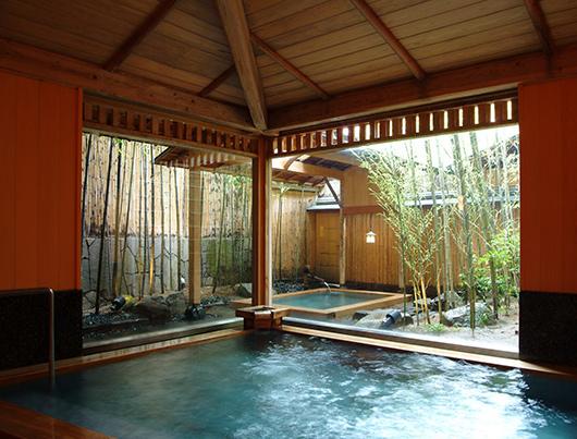 Bain au Nishimuraya Honkan