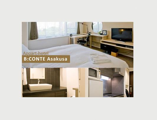 Appart-hotel B:CONTE Asakusa
