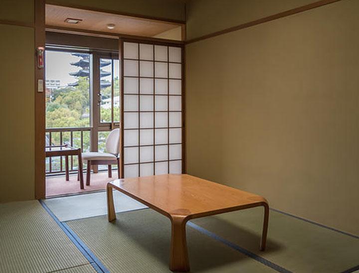 6 tatami-mats(Nara visitor center&inn)