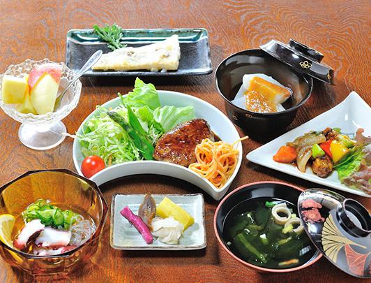 Exemple de dîner au Minshuku à Asuka , Nara