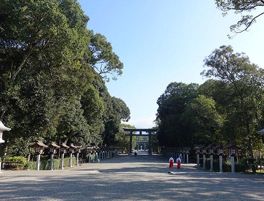 Kashihara-jingu, Nara
