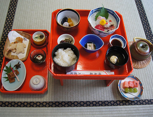 Dîner-Shojin-Ryori-Kaiseki