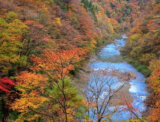 Dakigaeri Valley, Akita