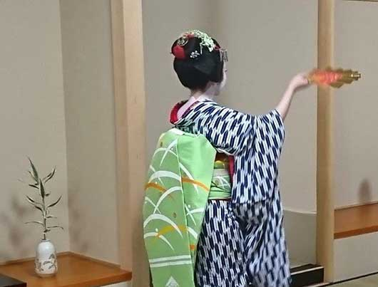Maiko Dance Performance with Lunch