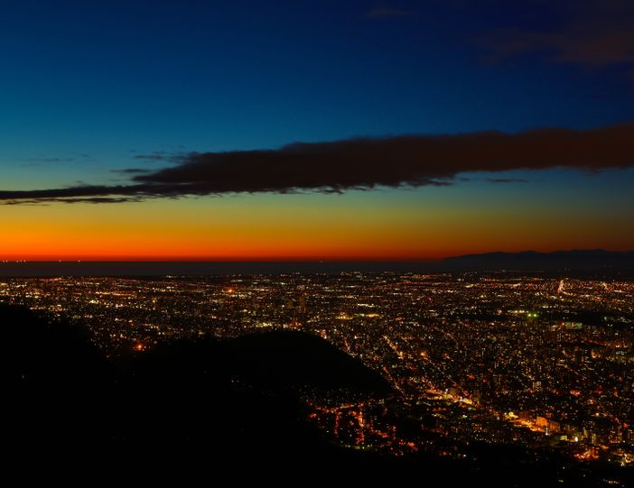 Sapporo scintille de mille feux dans la nuit ! Blog Japon Agence de voyage sur mesure Japan Travel Centre