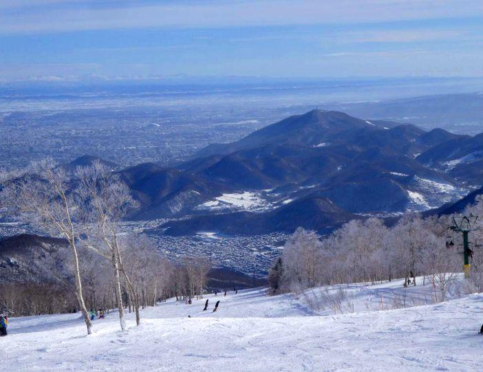 japon sapporo hiver