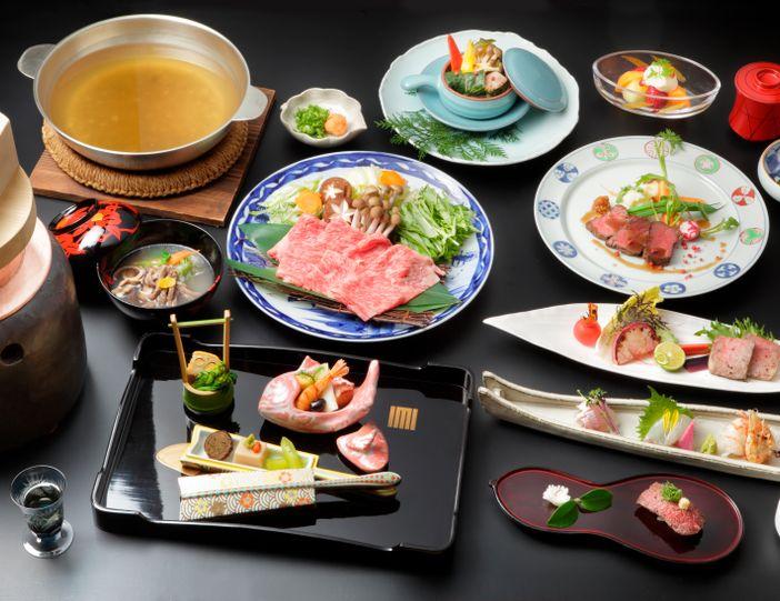 repas kaiseki traditionnel japonais ryokan