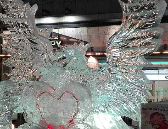 sculpture glace susukino yuki matsuri sapporo japon