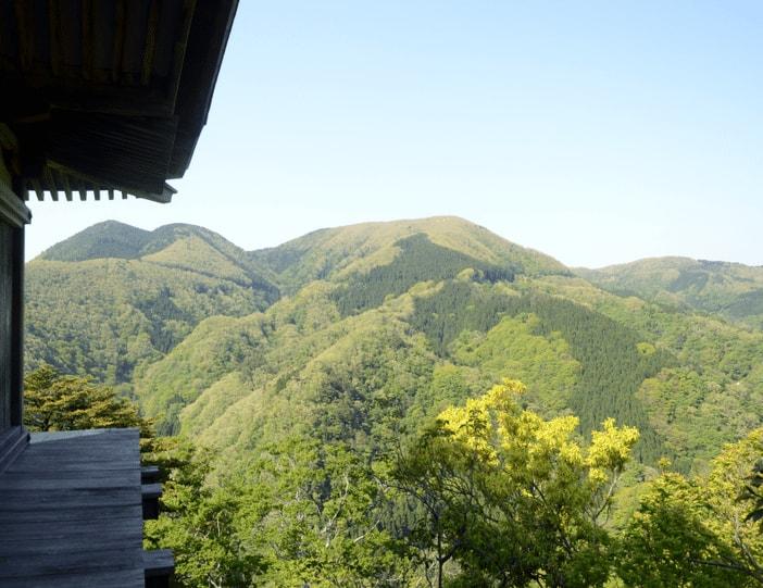 randonnée ascension mont mitoku misasa tottori