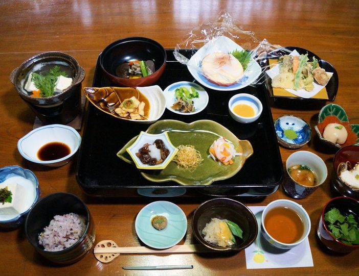 seishin ryori repas bouddhique japonais vegetarien