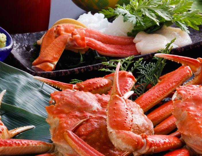 crabe tottori japon