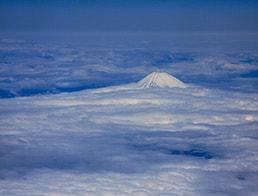 Mt Fuji April