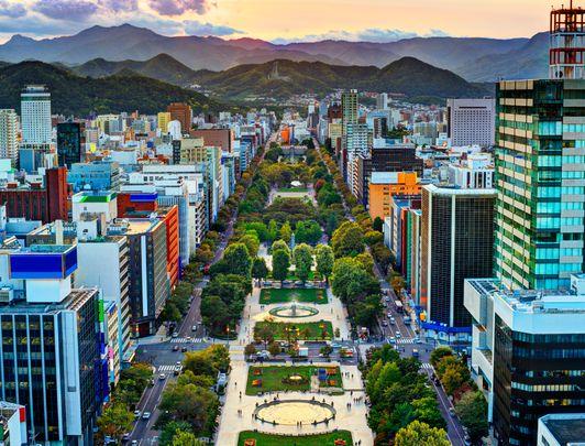 Sapporo Odori Park - Hokkaido