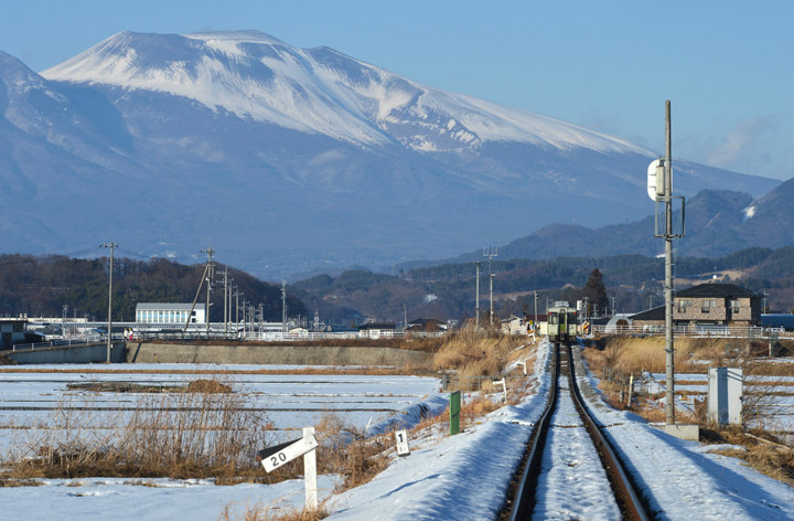 JR Koumi Line: Taken in January 2013