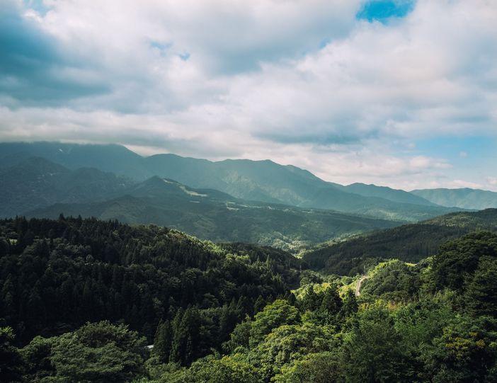 magome panorama montagnes japonaises
