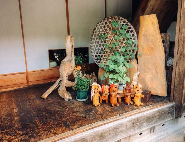 artisanat local japonais tsumago