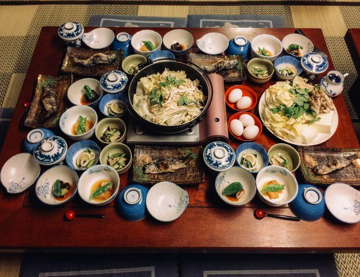 cuisine japonaise locale tsumago
