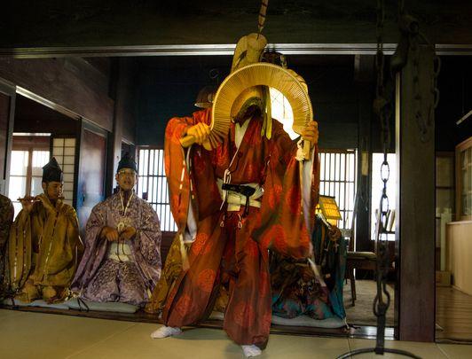 Danse ancestrale à Gokayama